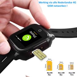 KIDWATCH5 GPS Horloge Telefoon WIFI - BLAUW
